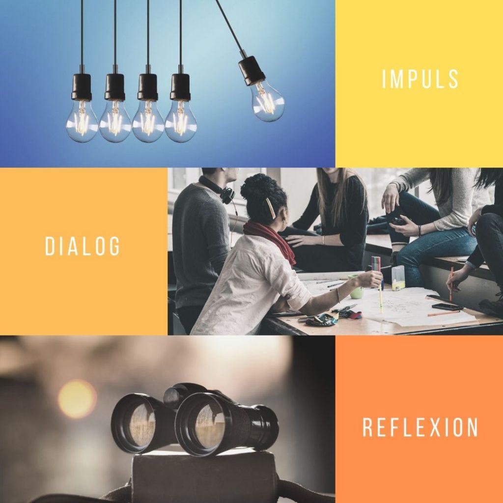 Gruppendialog: Impuls, Dialog, Reflexion